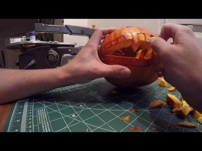 DIY. Halloween pumpkin carve.