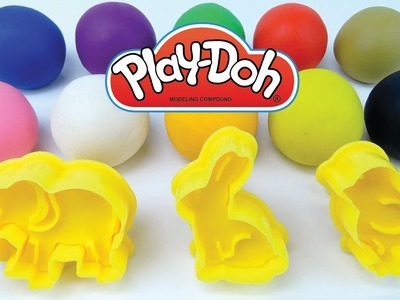 DIY How To Make Play Doh Animails Toys Modelling Clay Learn Colors