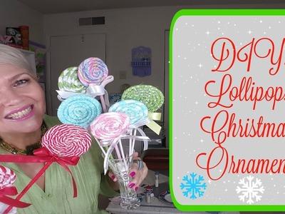 DIY: Lollipops Christmas'  Ornaments