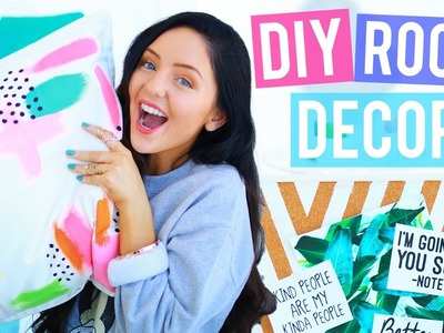 DIY Room Decor You NEED To Try! Easy & Affordable! Bedroom Makeover, DIY Pillows + more!