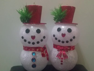 33 lovely diy christmas tree ornaments my crafts and diy for Plastic fish bowls dollar tree
