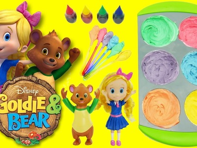 Goldie & Bear Disney Junior Toys DIY Fairytale Forest Land Adventures How to Make Magic Cupcake