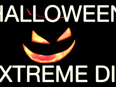 HALLOWEEN EXTREME PUMPKIN CARVING | DIY Halloween Decorations