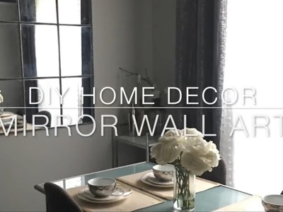 HOME DIY Decor Dollar Tree MIRROR UNDER $20
