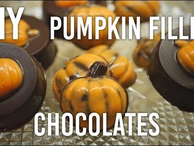 How to Make Pumpkin-filled Chocolates : DIY