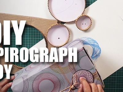 Mad Stuff With Rob - DIY Spirograph Toy | Collaboration with a 7 year old