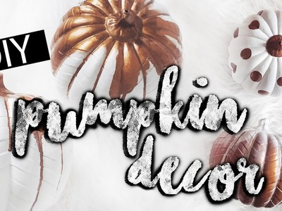 Pinterest DIY Pumpkin Decor | LLimWalker