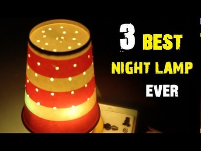 3 Awesome ways to Make a simple Night Lamp [DIY]