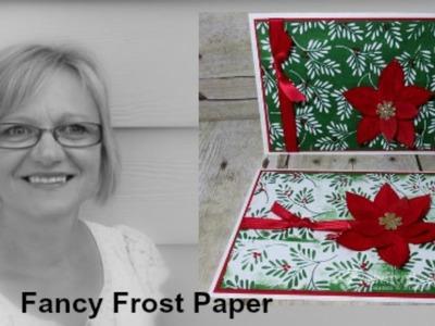 Color Fancy Frost Paper