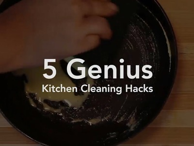 Daily DIY Home: 5 Genius Kitchen Cleaning Hacks