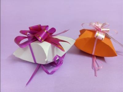 Easy Paper GIFT BOX - Tutorial