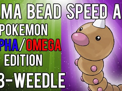 Hama Bead Speed Art | Pokemon | Alpha.Omega | Timelapse | 013 - Weedle