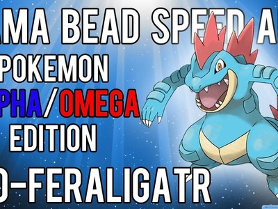 Hama Bead Speed Art | Pokemon | Alpha.Omega | Timelapse | 160 - Feraligatr