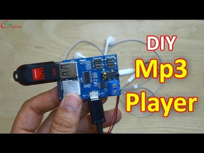 How to make Mp3 Player at home | DIY Mp3 Player