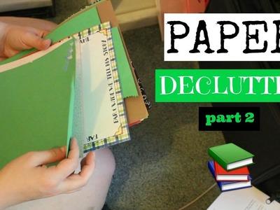 KonMari Paper Declutter | Part 2