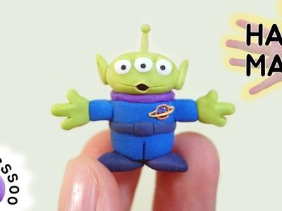 폴리머클레이로 알린 만들기 Toy Story Alien Polymer Clay Tutorial