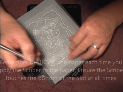 51 PCA-Parchment Craft EasyCut Card making   PART 2