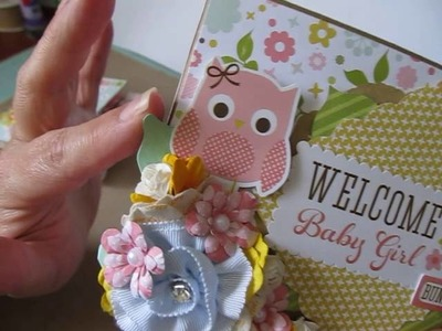 Baby Girl Layout & Two Mini Scrapbook Albums