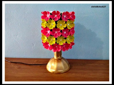 DIY# 39 Lampshade Made Of Recycled Plastic Bottles