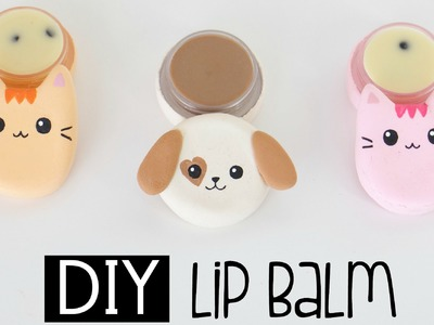 DIY Cat & Dog Lip Balm From Scratch - Chocolate and Cookies & Cream Flavour