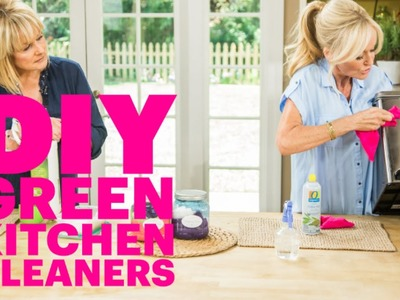 DIY Green Kitchen Cleaners | Tackle Big Messes and Save Money with These Easy Recipes