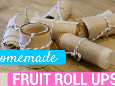 DIY Homemade Fruit Roll Ups! | Stephanie from Millennial Moms