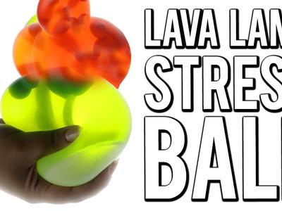 DIY LIQUID LAVA STRESS BALL