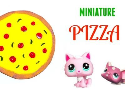 DIY LPS Pizza - Miniature Dollhouse Craft Stuff