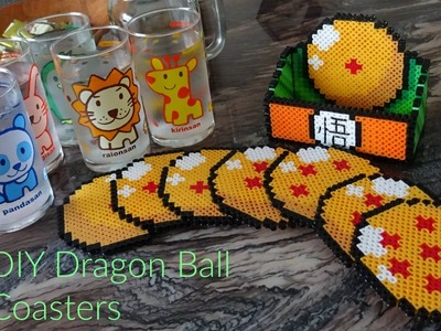 DIY Perler Bead Dragon Ball Coaster Set (Collab with SpeedBead!)