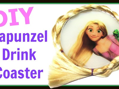 DIY Rapunzel Drink Coaster How To ~ Another Coaster Friday ~ Craft Klatch How To