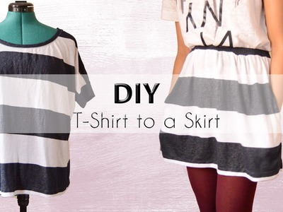 DIY Transformation: Shirt into a Skirt with Pockets