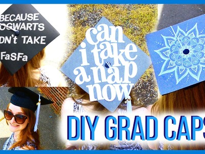 Graduation Caps! │ 3 DIY Ideas