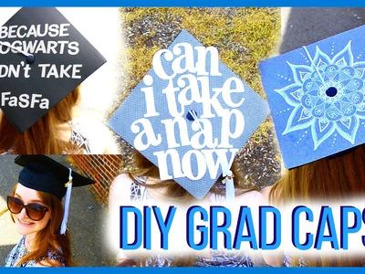 Graduation Caps! │ 3 DIY Ideas