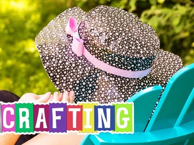 How to Craft a Duck Tape® Sun Hat