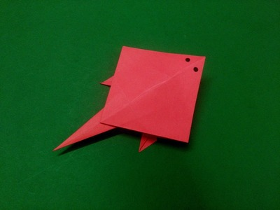 How to make origami paper fish (stingray) - 5 | Origami. Paper Folding Craft, Videos & Tutorials.