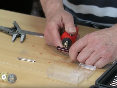 How to use a Mini Drill for DIY Craft - #AskAmtech