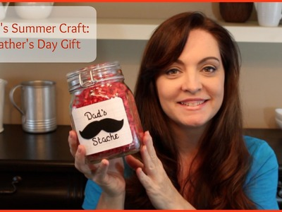Kid' Summer Craft:  Father's Day Gift