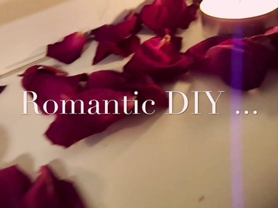 Romantic DIY. Craft ideas. Flower DIY.