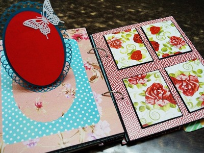 Scrapbook With Pockets And Tags | The Sucrafts