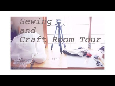 Sewing & Craft Room Tour