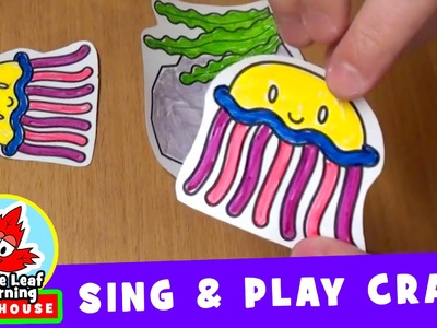 Three Jellyfish | Sing and Play Craft for Kids | Maple Leaf Learning Playhouse