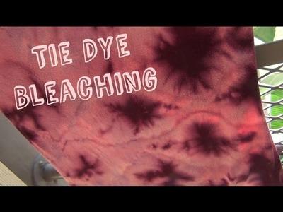 Tie Dye Bleaching ♥ DIY Fashion