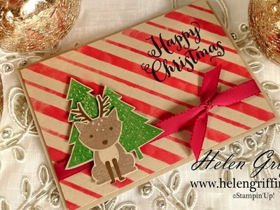3rd Day Of Christmas 2016 - Woodland Foxy Friends Reindeer Christmas Card Tutorial