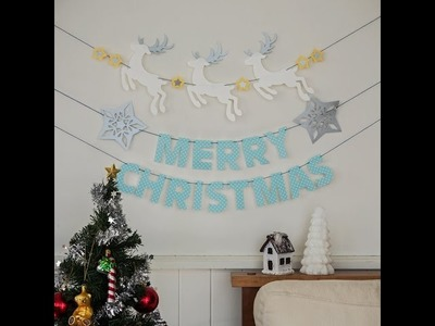 Canvas Project: Christmas Garland