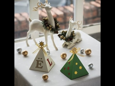 Canvas Project: Christmas Tree Gift Box