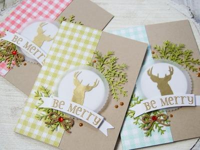 Christmas Card Set | Gift Card Holder & Envelope