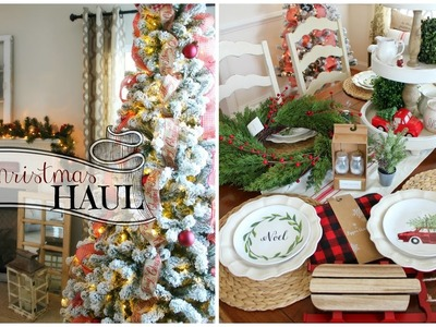 Christmas Decor HAUL 2016! Target Dollar Spot, Home Goods + NEW Christmas Tree!
