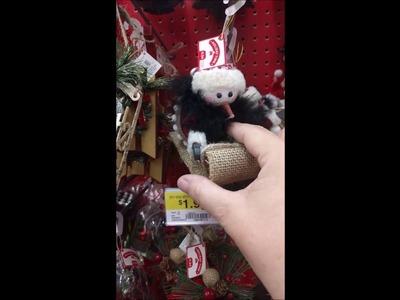 Christmas Decor Shop with Me at Walmart 2016