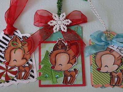 Christmas Tags 2016 + Christmas Cards :)