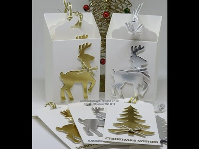 Crafty Christmas Countdown #19 – Luxury Reindeer Gift Tags and Holder